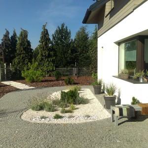 nowoczesny ogród lublin